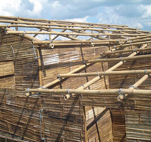 Roofing Of The Bamboo House